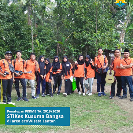 STIKes Kusuma Bangsa Support Eco-Tourism